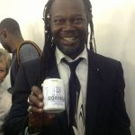 "Levi Roots The Dragons Den ""Reggae Reggae sauce"" man with Ankh Rah High Quality Moringa."