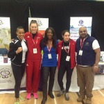 Ankh Rah Stand At the European MMA Championships, we saw a host of top Athletes & Cage fighters. Seen above Surrounded by these lovely MMA fighters is former Olympic, Commonwealth Champion & London 2012 Olympic Ambassador Tessa Sanderson (middle).