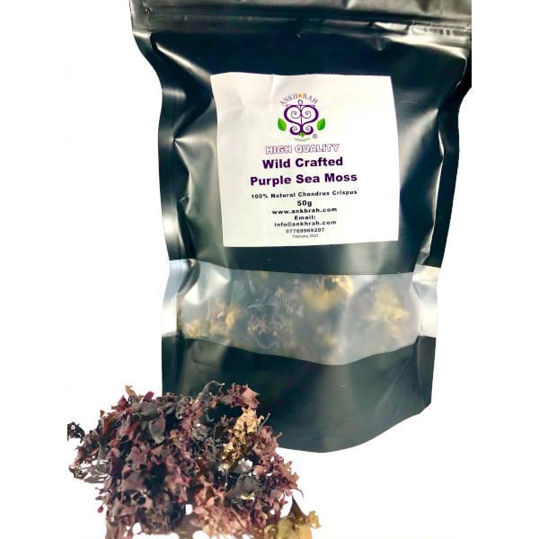 Wild Crafted Purple Sea Moss